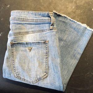 Guess | Women's Distressed Denim Shorts